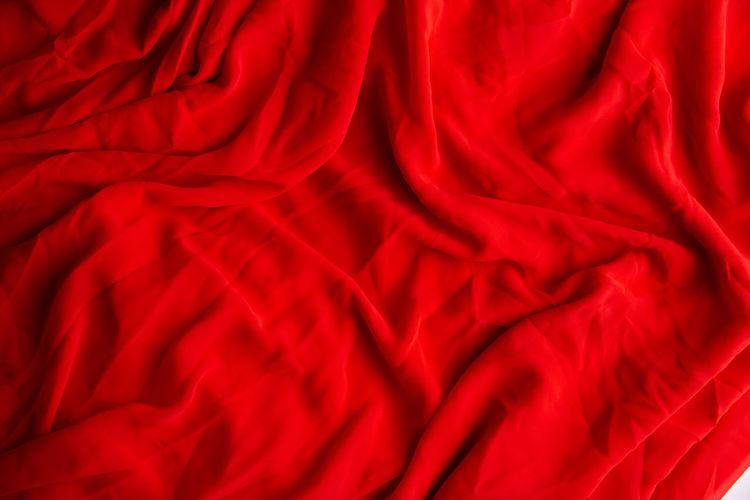 Full frame shot of red bed