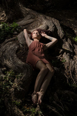Possum Kingdom Utah Pr0ject_uno Young Women Full Length Beauty Women Portrait Summer Beautiful Woman Forest Adventure