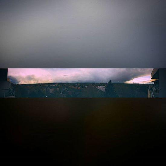 Over the roofs of the city 1.1 (Samsung Galaxy S7 Edge) Braunschweig Bs Cityskyline Sky Panorama Samsunggalaxys7edge Clouds Sundown Cloudysky Cloudporn Balkonyview Balkonaussicht Balkonien