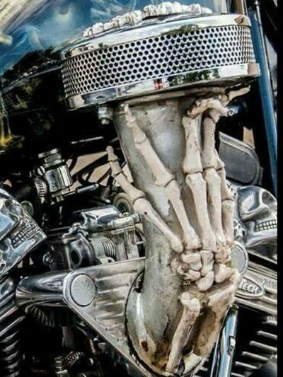 #MOTORCYCLEART #FTW🖕 #RideOn_ #MCMF #MOTORCYCLE #lifestyle #EyeEmNewHere #carburetor #aircleaner/#filter #fingers #bones/#fingers #SKELETONS #Hand #skeleton Fingers Hand #revtech Motor