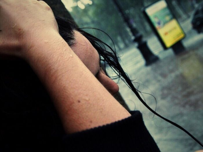 Rain Hanging Out Past 3 Years Ago Street Photography People The Human Condition