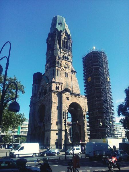 Berlin Church Kaiser Wilhelm Gedächtniskirche Breitescheidplatz Franz Schwechten