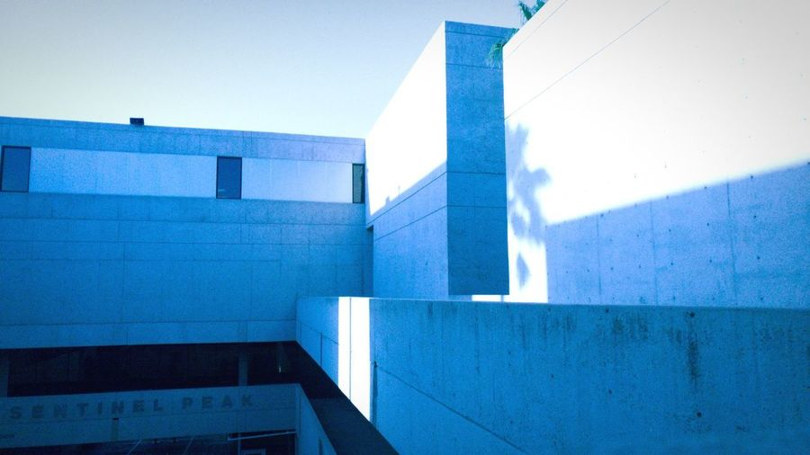 Dimensions Dimensional Modern Architecture Modern Architecture Built Structure Building Exterior No People Blue Futuristic Day Outdoors Sky Rectilinear Outside Concrete Structure Building Rigid Concrete Concrete Jungle Pima Community College Lines And Shapes Ryan GREEN Ryrygreen Lg G5 Tucson