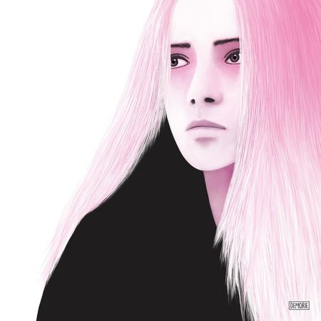 """At The End All Is Black"" - Work in progress Portrait One Woman Only Adult Only Women Fashion Pink Color One Young Woman Only People Glamour Beautiful Woman Beauty Printing Drawing Painting Creative Photoshop ArtWork Illustration Creativity Art Gallery Digital Art My Artwork Watercolor Aquarelle Human Face"