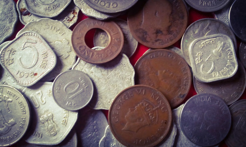 Coins Collection Old Coin Collection Coins Showcase June EyeEm Gallery Currency Finance Old Coins My Collection From My Point Of View One Quarter Anna One Rupee One Pice 3 Paise 5 Paise 10 Paise 20 Paise 43 Golden Moments Indian Currency Indian 1927 1944 1941 1947 From A Different Perspective