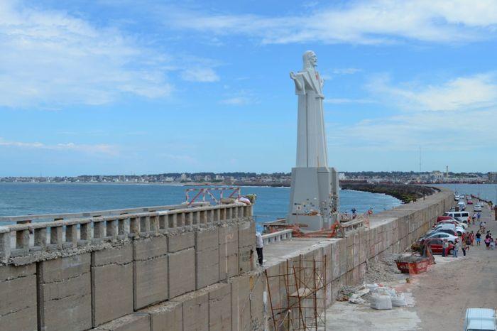 Mar Del Plata Argentina Mar Del Plata  Cristo Like:)