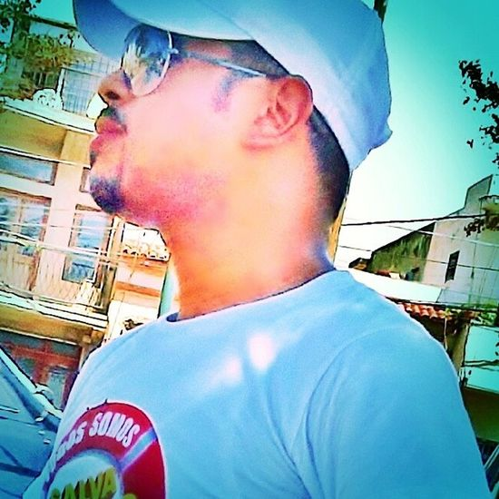 Libertad Luz Foto Gorra perfil gafa cool yolo sportster mirada