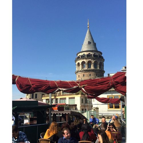 Galatatower People Konstantinopolis Beatifulcity Sunnyday March