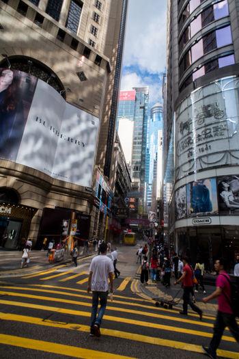 Busy City Cityscape Hong Kong Hong Kong City HongKong Travel Photography Vertical Composition Streetphotography