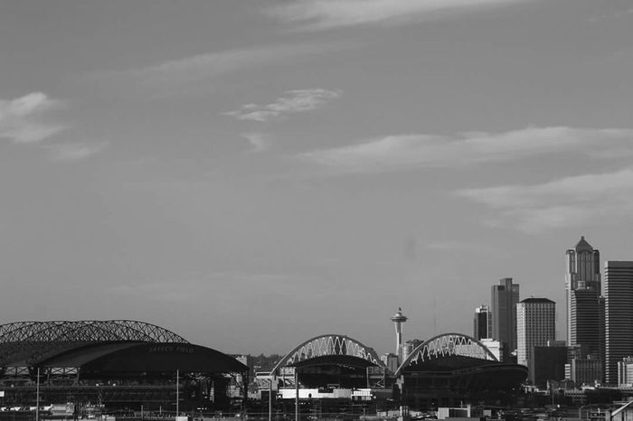Seattle Skyline Centurylinkfield Safecofield Cityscapes Hello World EyeEmBestPics RePicture Leadership Enjoying The Sights