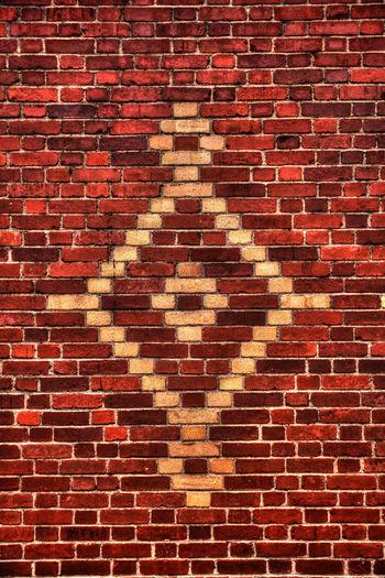 Wall in Santiago de Cuba Cuba Santiago DeCuba Wall Brick Wall Bricks Brickwork  Layer Red Bricks Wall