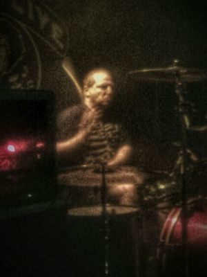 Grumpy Face...hehe!! Live Music Rock Show Me On Drums Levity In Action