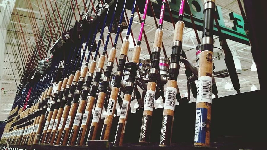 Fishing Poles Fishing Poles Dick's Lines Repitition The Still Life Photographer - 2018 EyeEm Awards
