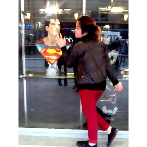 I crush yow .... Superman Marvels Walling :)