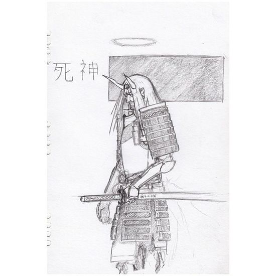 Old doodle - Nanban Shinigami Doodle 3monthago