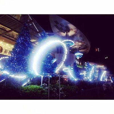 My Unforgetable life, blue Christmas and new year atsmosfer @uboxindo UrLifeRescuer