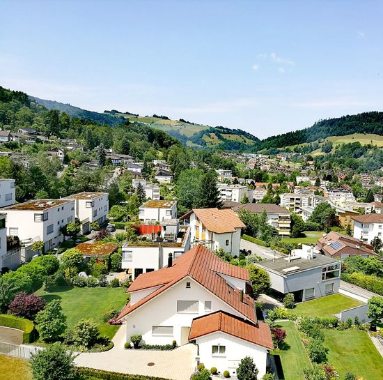Pilatus Mountain Switzerland❤️ Summer Holiday Sunny Building Exterior House High Angle View Architecture Residential Building Day Town Outdoors No People Sky Roof Cityscape Tree City Close-up