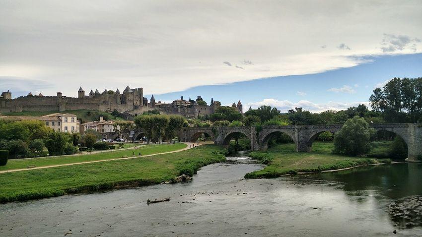 Carcassone, France Carcassonne Castle France Travel Picoftheday Carcassonne First Eyeem Photo