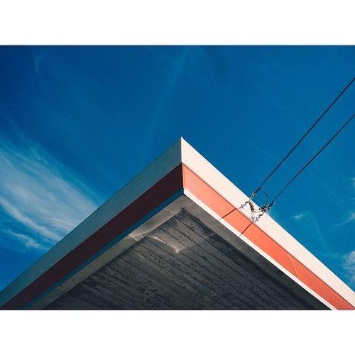 Petrol station near home. Sydney Streetphotography Vscocam Lumia1520