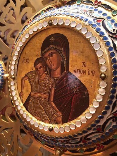 Virgin Mary Theotokos Icon Altar Orthodox Church Church Jesus Christ Jesus Christ Christianity Religion