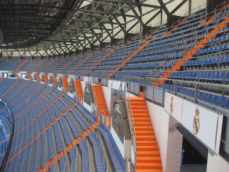 Architecture Bernabéu Built Structure Diminishing Perspective Football Stadium In A Row Modern Real Madrid Repetition Santiago Bernabeu The Architect - 2016 EyeEm Awards