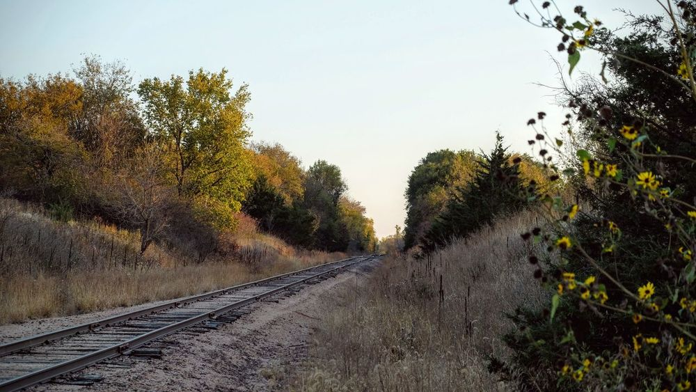 Photo essay - Marysville, Kansas October 15, 2016 A Day In The Life America Autumn Camera Work Color Photography Diminishing Perspective Eye4photography  EyeEm Gallery Fall Collection Growth Journey Kansas MidWest Non-urban Scene October Outdoors Photo Diary Photo Essay Photography Railroad Track Railway Track Scenics Surface Level The Way Forward Visual Journal