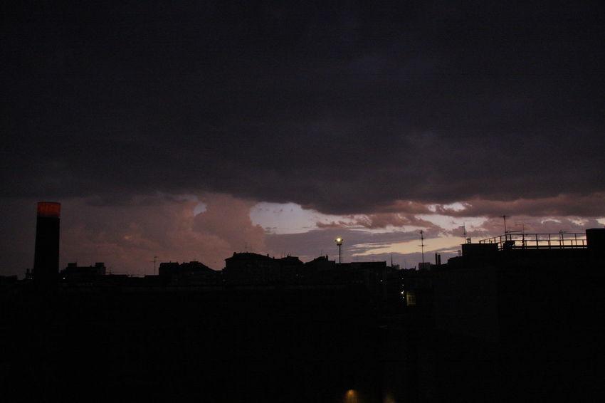 Architecture City Cloud Cloud - Sky Cloudy Moody Sky Outdoors Scenics Silhouette Sky Storm Cloud