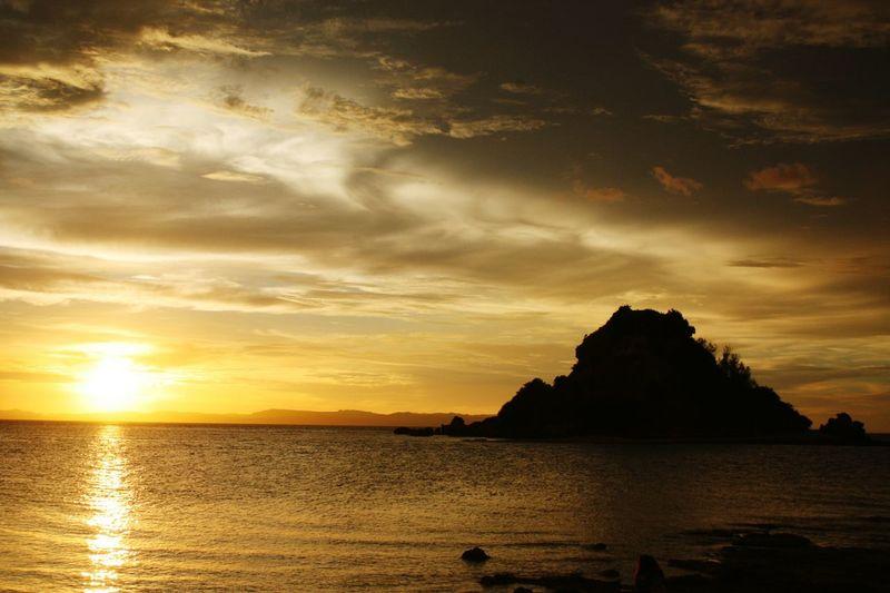Sunset, Sombrero Island Masbat Beachlife Virginisland