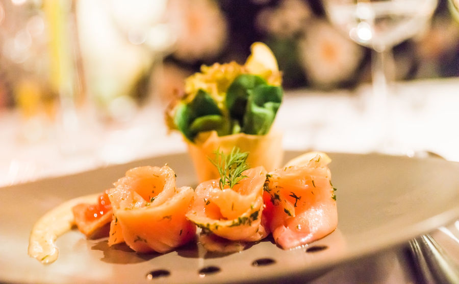 Business Caviar Close-up Fish Focus On Foreground Food Food And Drink Freshness Garnish Glass Healthy Eating Herb Indoors  Japanese Food No People Plate Ready-to-eat Restaurant Seafood Selective Focus Serving Size Still Life Table Vegetable Wellbeing