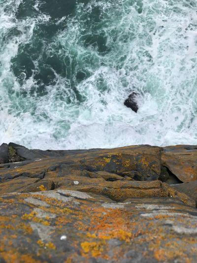cliff top Dun Aonghasa ,Ireland Dún Aonghasa Nofilter Ireland Rock Sea Water Go Higher No People Power In Nature Go Higher