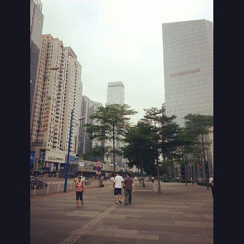Guangzhou City / 中国 / прогулка