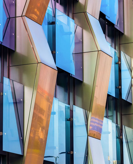 Architecture Blue Building Building Exterior Built Structure City Close-up Day Full Frame Glass - Material Low Angle View Modern Multi Colored Nature No People Office Building Exterior Outdoors Pattern Reflection Transparent Be Brave EyeEmNewHere