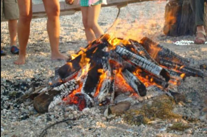 Beach Bonfire Bonfire On The Beach Toasting Marshmallows Kids Being Kids Firewood Teepee Shaped Fire And Flames Hanging Out Enjoying Life Relaxing Beach Photography Sandy Shore Feel The Warmth This Is The Life Relaxing Happy People Light It Up