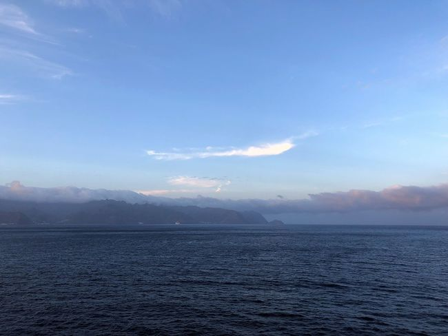 Sky Scenics - Nature Water Tranquil Scene Beauty In Nature Tranquility Waterfront Sea Mountain Cloud - Sky No People Non-urban Scene Nature Idyllic Day Blue Outdoors Mountain Range Fog Wolkenbilder Abendstimmung Panorama Himmel Und Meer Tenerife Island Himmel Und Berge