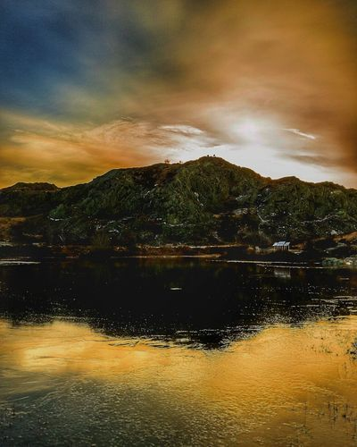 East Coast Sunrise Reflection Water Sunset Reflection Lake Tranquility Dramatic Sky Lake Nature Sky Outdoors Scenics Beauty In Nature No People Arrival Refraction Day