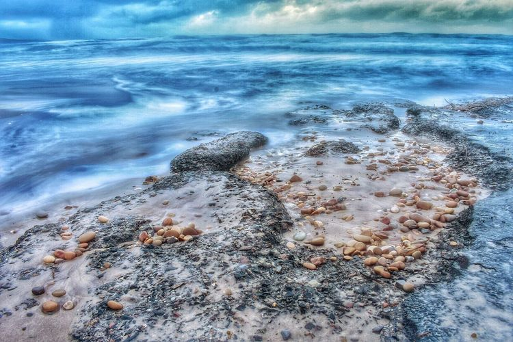 Nature Sea Beauty In Nature Water No People Outdoors Beach Day Rock - Object Scenics Tranquility Wave Sky