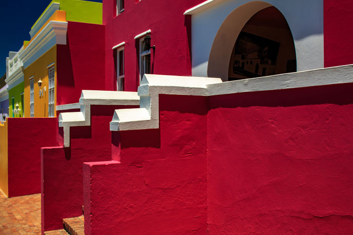 Architecture Bo-kaap Building Exterior Built Structure Cap Close-up Colorfull Day No People Outdoors Red Sunlight