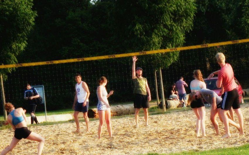 Beach Volleyball Viersen Germany Fujifilm Finepix SL1000 Taking Photos Eye4photography  Sl1000 Nice Day Peoplephotography EyeEmBestPics