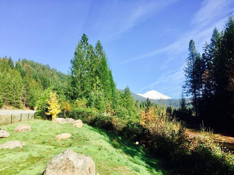 Scenics Clear Sky Mountain Landscape Snowcapped Mountain Mt Shasta