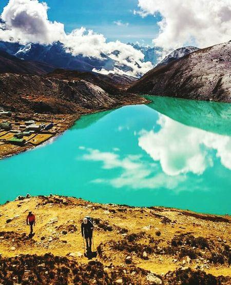 Gokyo Lake NepaL Nepal Travel Nepalese Beauty Eyem Best Shots Nature_collection Nepal