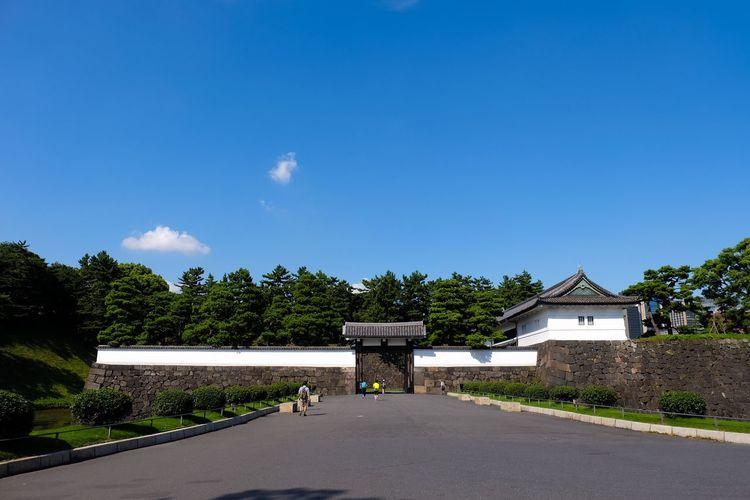 Edo Castle Sakuradamon Sakurada Gate Tokyo Imperial Palace Landscape Landscape_Collection Landscape_photography FUJIFILM X-T1 XF 18-135mm/f3.5-5.6 WR The Architect - 2016 EyeEm Awards