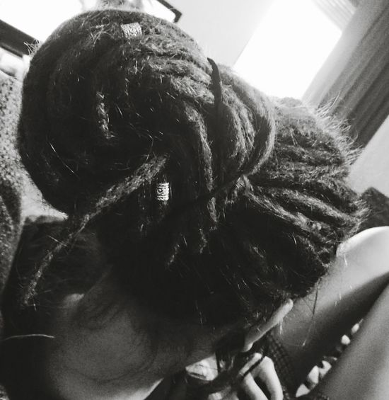 One Person One Woman Only Adult People Dread Dreads Dreadlocks Dread Head Dreadlock Girl Dreadstyle Black And White Photography Black&white Black And White Collection