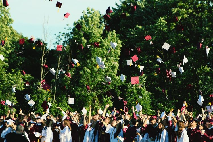 Its graduation season, so congrats to all graduates. Graduation Colors Waynehillshighschool GrowingUp