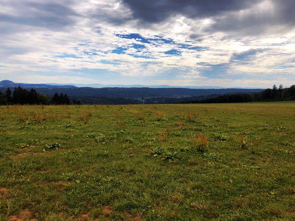 Cloud - Sky Field Tranquil Scene Landscape Rural Scene