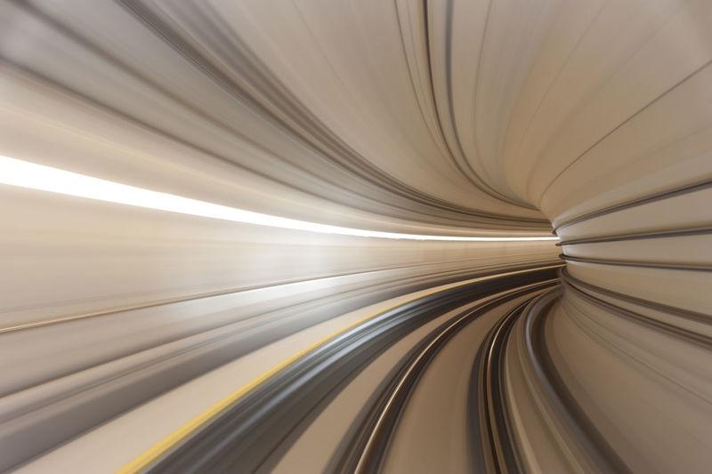 Full frame shot of illuminated tunnel