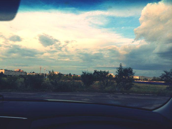 Мой родной город... ? Russia Россия Sky