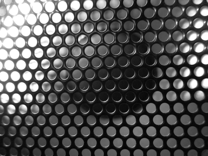 Black & White Black And White Blackandwhite Blackandwhite Photography Close Up Close-up EyeEm Best Shots EyeEm Best Shots - Black + White Eyeem Black And White EyeEm Macro Lautsprecher Macro Macro Beauty Macro Photography Macro_collection Macrophotography Makro Makro Photography Makro_collection Music No People Pattern Speaker Speakers Pattern Pieces
