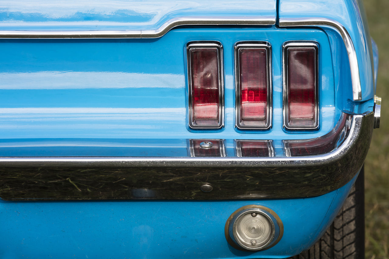 mode of transport, transportation, land vehicle, no people, day, outdoors, stationary, blue, close-up