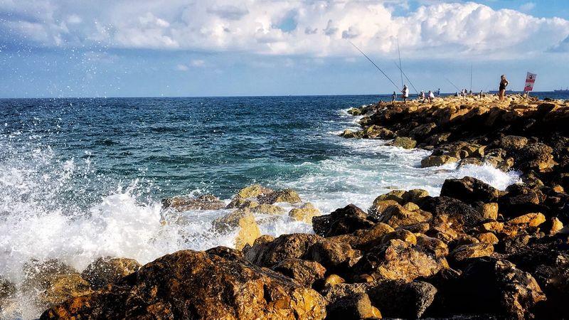 Sea Water Sky Horizon Over Water Beauty In Nature Horizon Beach Scenics - Nature Nature Cloud - Sky EyeEmNewHere