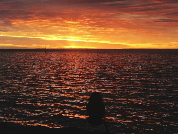 Sunset Orange Color Sea Beach Landscape Sun Outdoors Horizon Over Water EyeEm Selects EyeEm Gallery Life Is Beautiful Aroundtheworld Ocean View Ocean Beauty In Nature Enjoying The View Melbourne Sunlight Tranquil Scene Nature Scenics Enjoy Life WeekOnEyeEm EyeEm Best Shots